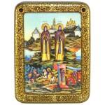 Святые преподобные Александр (Пересвет) и Андрей (Ослябя) Радонежские