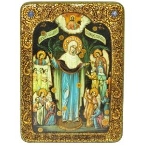 Образ Божией Матери «Всех Скорбящих Радость с грошиками»