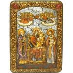 Образ Божией Матери «Пресвятой Богородицы «Экономисса (Домостроительница)»