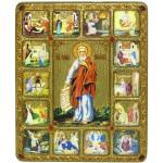 Пророк Илия Фесфитянин с житийными клеймами